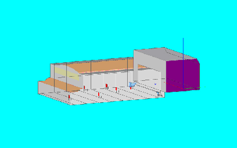 Acoustical 3D Model of a Theatre