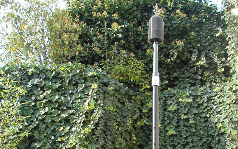 Noise control of outdoor cooling unit