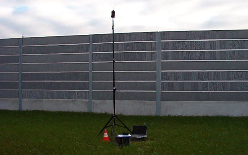 Long-term outdoor noise measurement