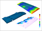 Modal analysis of aircraft wing