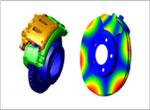 Brake analysis (thermal-structural)