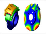 Coupled thermal-structural (friction) brake squeal analysis