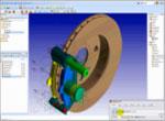 Brake analysis in SimXpert