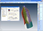 Repeatable process for bottle top load simulation