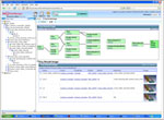 Simulation portal for managing and tracking simulation processes, history and content